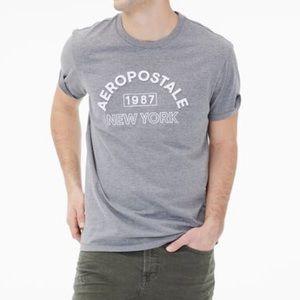 Aeropostale Men's 1987 New York Logo Graphic Tee